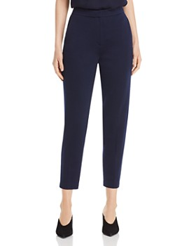 St. John - Milano Cropped Tapered Pants