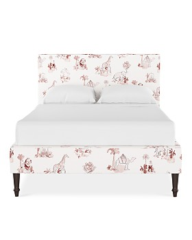 Cloth & Co. - Rowan Queen Platform Bed with Fancy Cone Leg