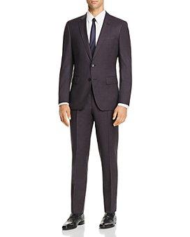 BOSS - Huge/Genius Check Slim Fit Suit - 100% Exclusive