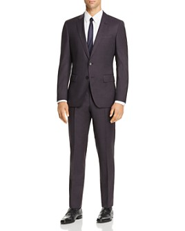BOSS - Huge/Genius Check Slim Fit Suit - 100% Exclusive