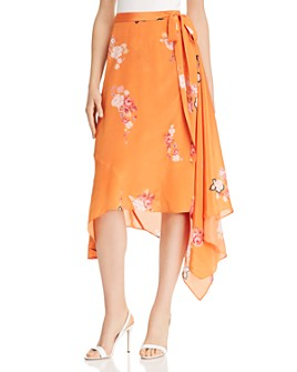 Preen Line - Regina Floral-Print Wrap Skirt - 100% Exclusive