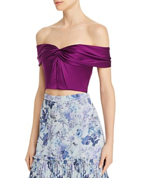 Amur - Winnie Silk Crop Top