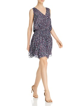 Ramy Brook - Sleeveless Printed Silk Dress