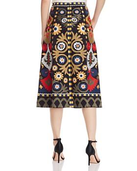 Kobi Halperin - Reese Floral-Embroidered Skirt