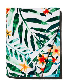 Barbarian - Floral Tropical Beach Towel