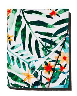 Barbarian - Floral Tropical Beach Towel
