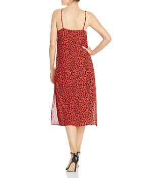 Charlie Holiday - Feline Leopard-Print Midi Dress