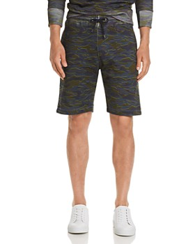 PS Paul Smith - Camouflage-Print Sweat Shorts