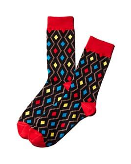 MAXHOSA BY LADUMA - Diamond-Patterned Socks