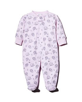 Kissy Kissy - Girls' Elephant & Lion Print Footie - Baby