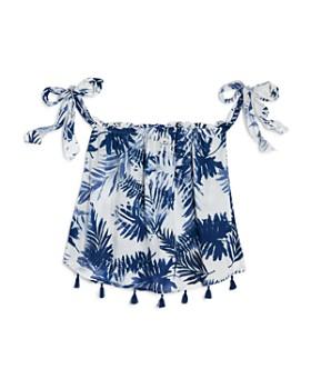 Vintage Havana - Havana Girls' Palm-Print Top & Shorts - Big Kid