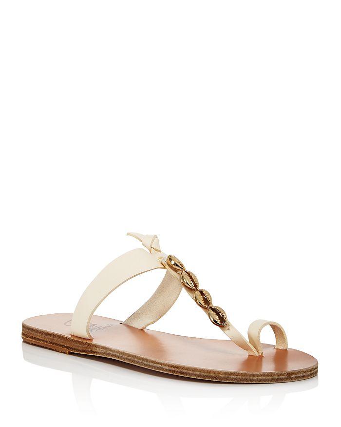 Ancient Greek Sandals - Women's Iris Shells Thong Sandals
