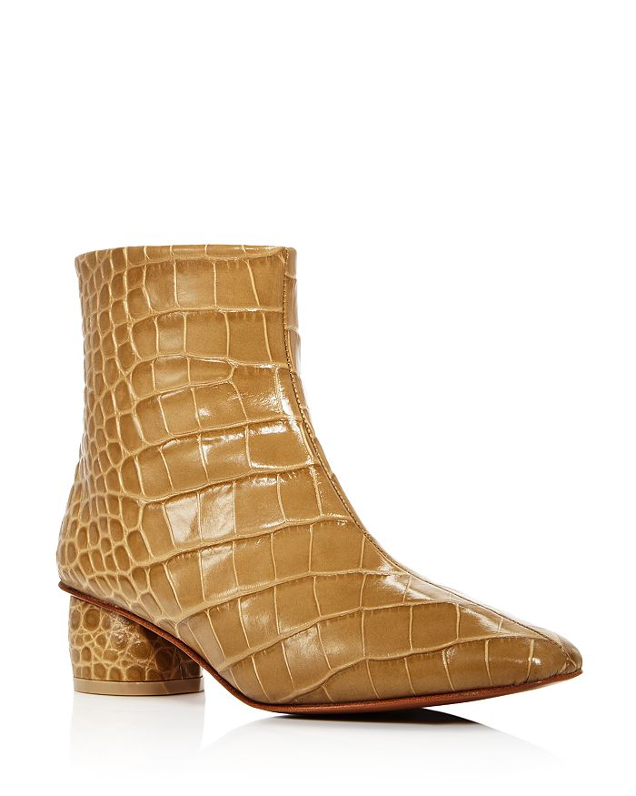 LoQ - Women's Matea Croc-Embossed Booties