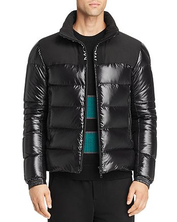 Moncler - Bruel Mixed-Media Down Jacket