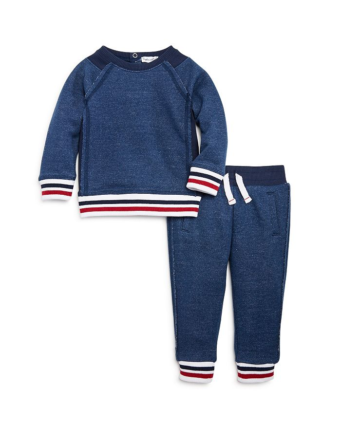 Splendid - Boys' Striped Top & Jogger Pants Set - Baby