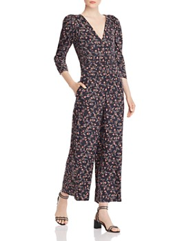 Rebecca Taylor - Lia Floral-Print Jumpsuit