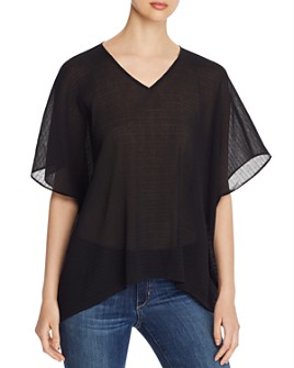 Eileen Fisher - Textured Dolman-Sleeve Top
