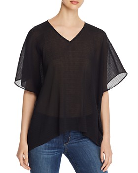 Eileen Fisher - Textured Dolman-Sleeve Top