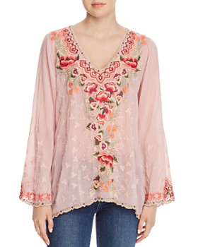 Johnny Was - Cristabella Embroidered Blouse