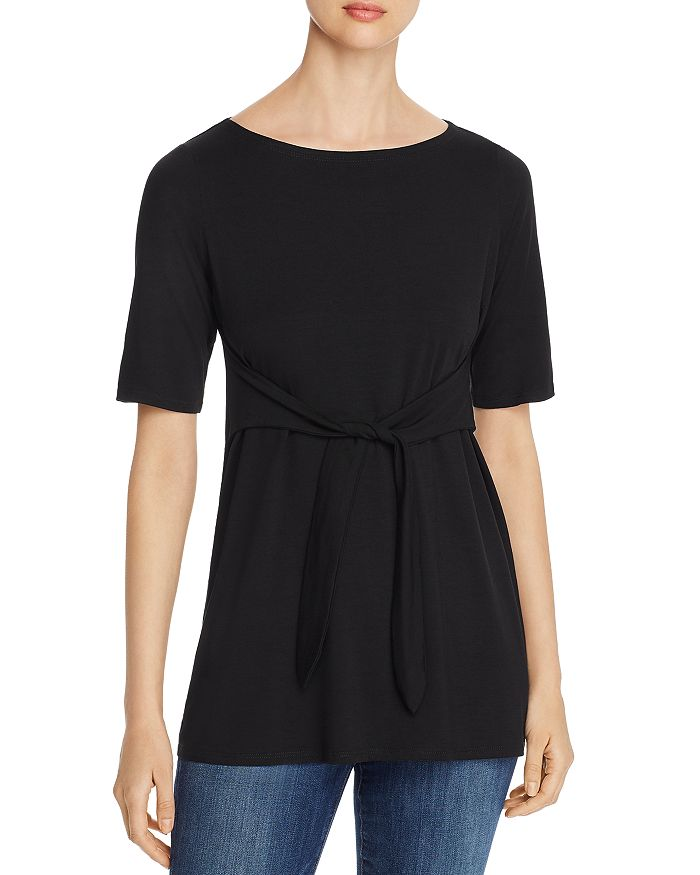 Eileen Fisher - Tie-Waist Top