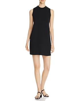 Eileen Fisher Petites - Mock Neck Stretch-Knit Dress