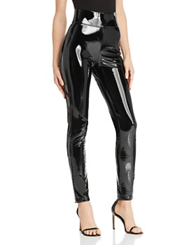 Tiger Mist - Back It Up Faux Patent Leather Pants