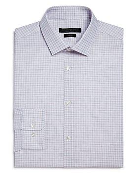John Varvatos Star USA - Melange Check Slim Fit Dress Shirt