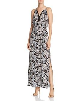 AQUA - Paisley Maxi Dress - 100% Exclusive