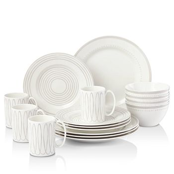 kate spade new york - Charlottle Street West Dinnerware Set, 16 Piece