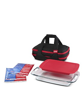 Pyrex - Portable 9-Piece Double Decker Set