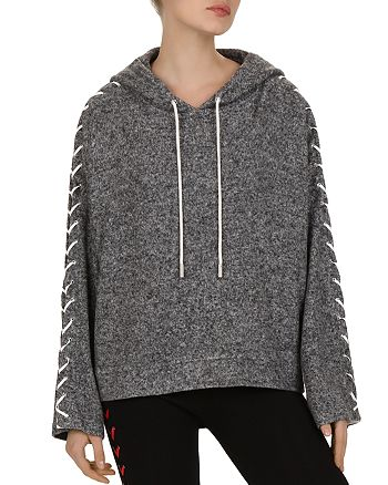 The Kooples - Lace-Up Detail Sweatshirt
