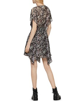 ALLSAINTS - Malley Leofall Leopard Print Dress - 100% Exclusive