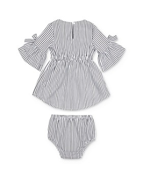 Habitual Kids - Girls' Striped Bell-Sleeve Dress & Bloomers Set - Baby