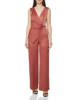 REISS - Vita Asymmetric Jumpsuit