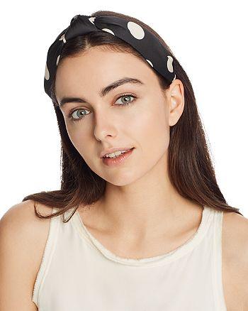 AQUA - Polka Dot Twist Headband - 100% Exclusive