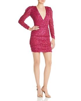 Parker - V-Neck Sequined Dress - 100% Exclusive