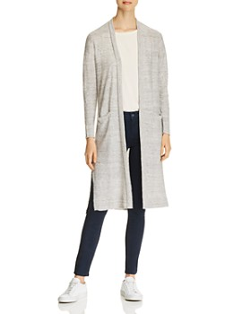 Donna Karan - Open-Front Duster Cardigan