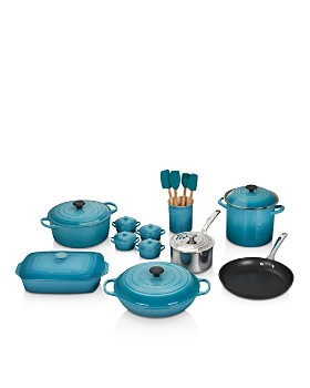 Le Creuset - 20-Piece Mixed Material Cookware Set