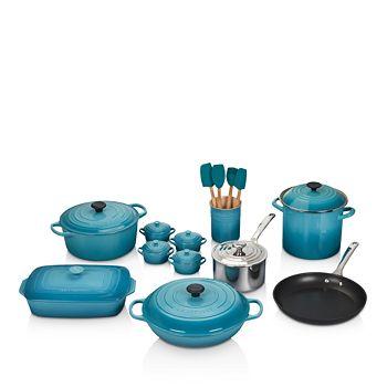 Le Creuset - 20-Piece Mixed Material Cookware Set