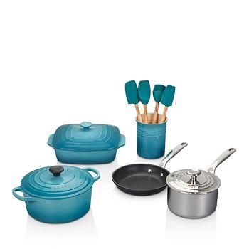 Le Creuset - 12-Piece Mixed Material Cookware Set