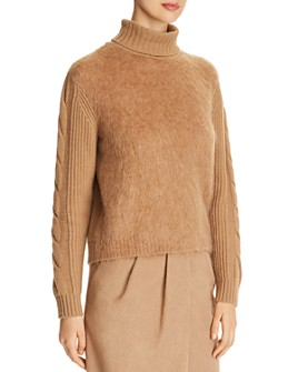 Max Mara - Formia Virgin Wool & Cashmere Turtleneck Sweater