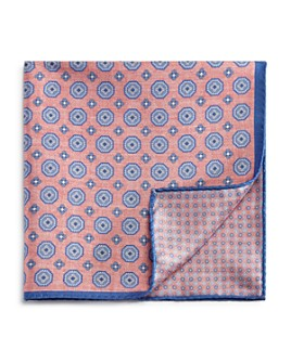 The Men's Store at Bloomingdale's - Circle Medallion/Neat Pocket Square