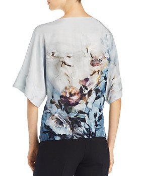 Go by Go Silk - Easy Does It Printed Top