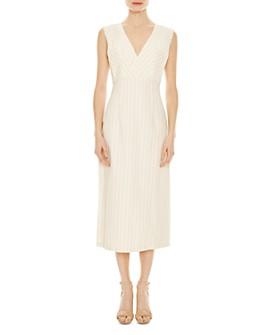 Sandro - Noaim Striped Midi Dress
