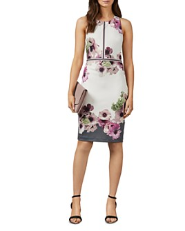 Ted Baker - Nanina Neopolitan-Print Dress