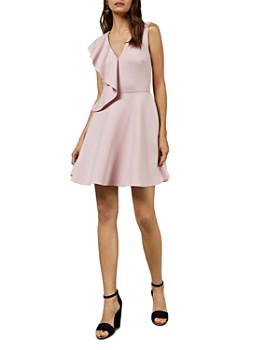 b341b16d3be5 Ted Baker - Lantaa Ruffle-Detail Skater Dress ...