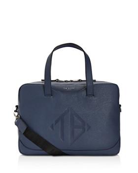 Ted Baker - Peng Logo Embossed Document Bag