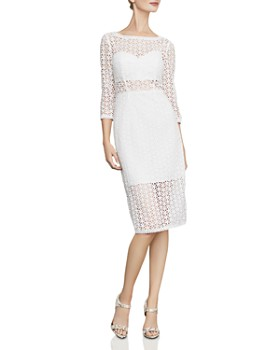 ff78f739a BCBGMAXAZRIA - Daisy Illusion Lace Sheath Dress ...