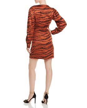 Anine Bing - Penelope Tiger Print Silk Mini Dress