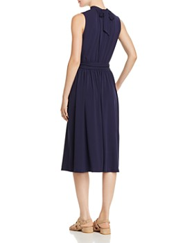 Leota - Mindy Shirred Midi Dress